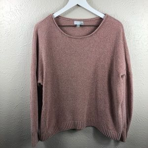 14th & Union Light Pink Chenille Sweater